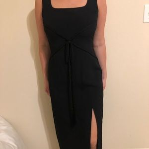 Donna Rocco black dress from 90s